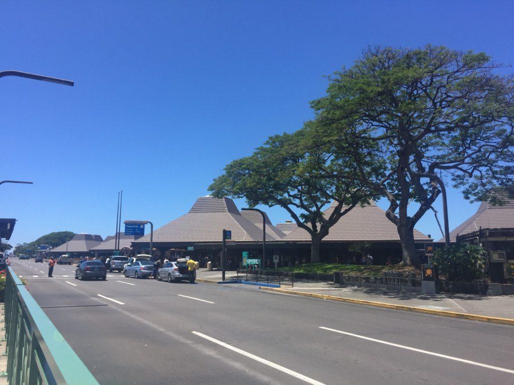 コナ空港の周辺