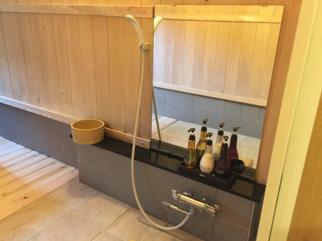 プチホテル ユーフィール お風呂
