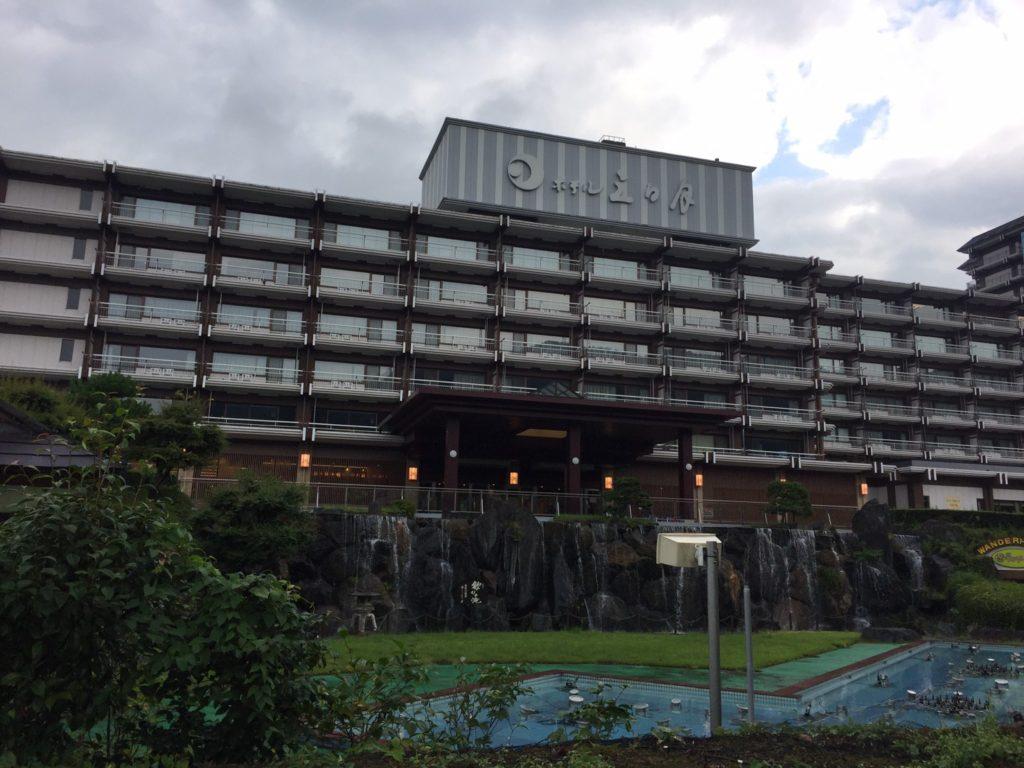 きぬ川ホテル三日月 外観
