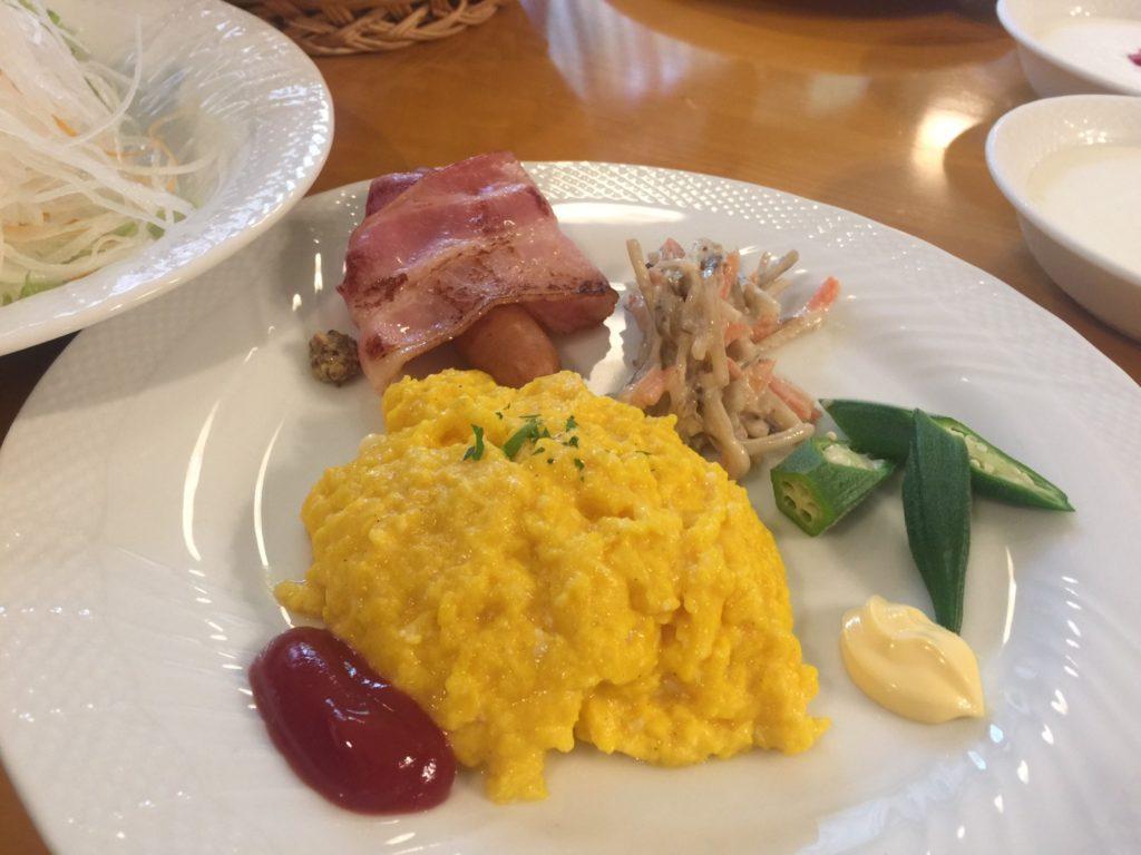 プチホテル ユーフィールの朝食