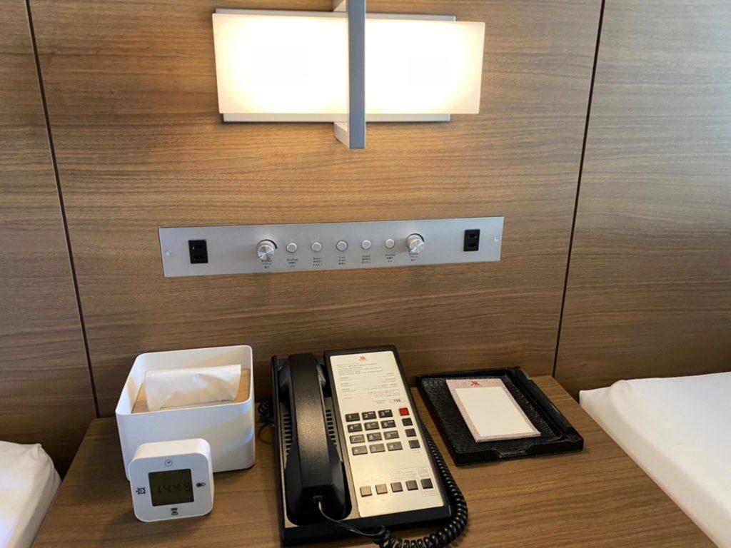 軽井沢マリオットホテル ベッドルーム