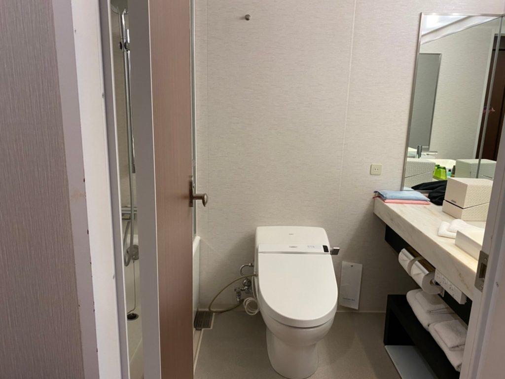 軽井沢マリオットホテル トイレ